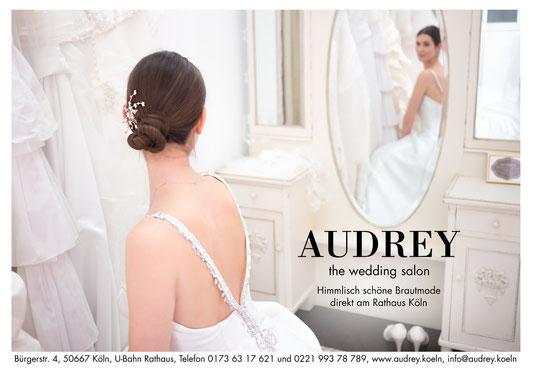 Audrey Brautmode Flyer