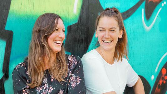 Portrait Team Digitale Balance Maike Engel und Sandra Dorschner