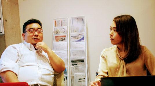 元クラスメートで共同代表である中島啓吾(けいご)社労士との強い信頼関係も強み。