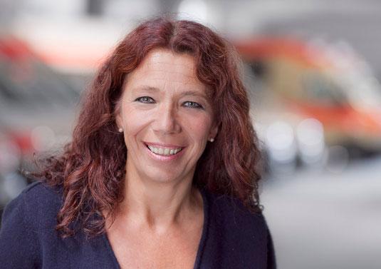 Dr. Lisa Federle, DRK Tübingen, Präsidentin, Notärztin, Kreisverband, Grinsen