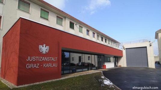 Eingang der Justizanstalt Graz Karlau