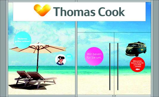 Beispiel für eine vollflächige Thomas Cook Umbaufolierung