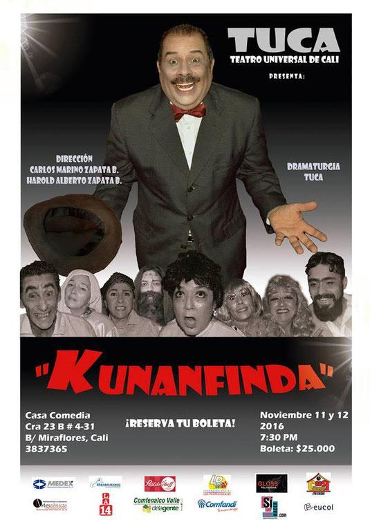 Temporada de teatro estreno Kunanfinda