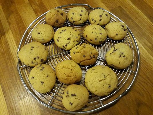 Cookies sans gluten pauvre en FODMAPs vegan