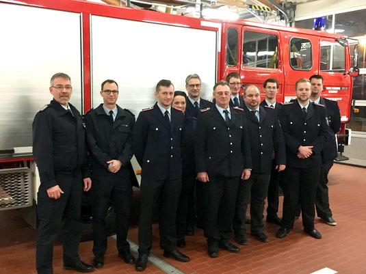 Jahreshauptversammlung; JHV; Feuerwehr Beverstedt; Freiwillige Feuerwehr Beverstedt; Ortsfeuerwehr Beverstedt; Ortswehr Beverstedt