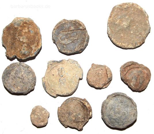Bleiplomen von Waren und Gütern aus dem Mittelalter und der Neuzeit