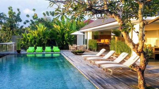 Villa dijual di Canggu. Babakan villa di jual.