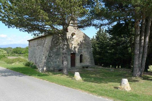 La chapelle Saint Barthélémy.