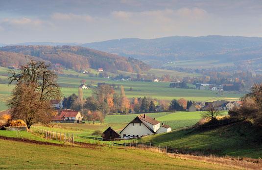 Blick auf das Eggetal © Stadt Preußisch-Oldendorf