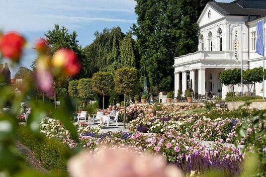 Der Rosengarten in Bad Salzuflen  © Staatsbad Salzuflen GmbH