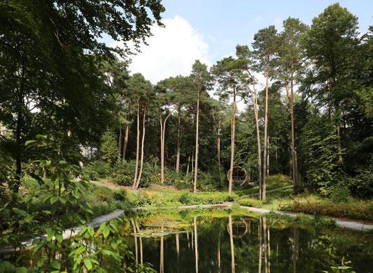 Waldidylle der Gartenschau © Stadt Bad Lippspringe