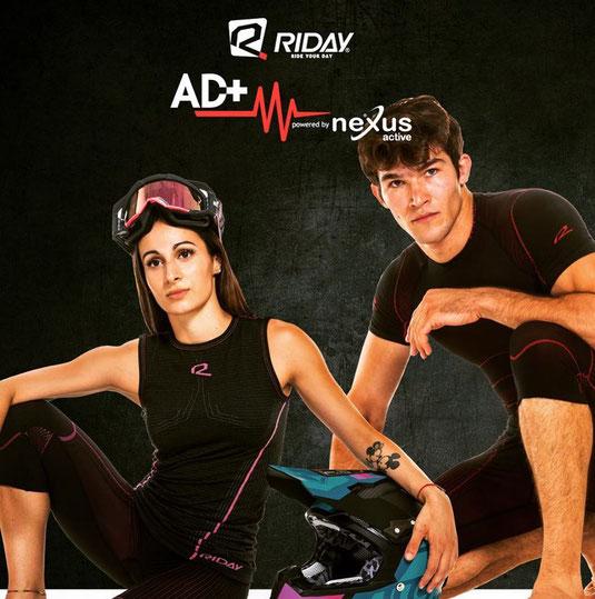 Riday sous-vêtements de sport techniques de haute qualité développés avec la technologie 3D