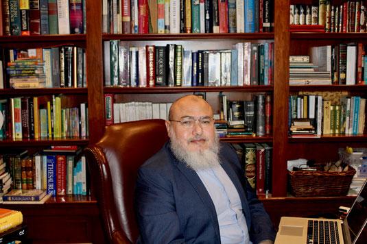 DR. KHALED ABOU EL FADL, FOUNDER OF THE INSTITUTE OF ADVANCED USULI STUDIES