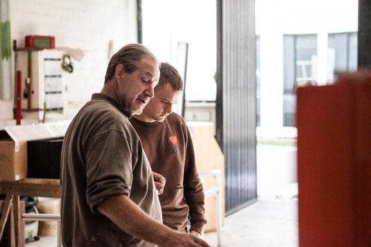 Schreiner Werkstatt Mainz Möbelbau Möbel Holz Jertz Handwerk Schreinerei
