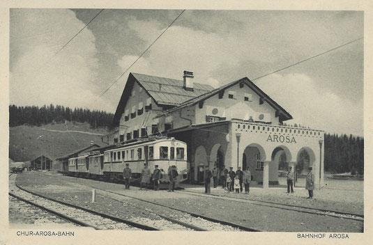 A. Reinhardt Chur, gestempelt 25.08.1916