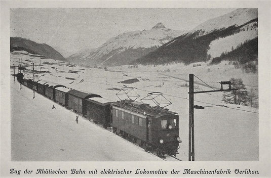 Maschinenfabrik Oerlikon, gestempelt 28.06.1918