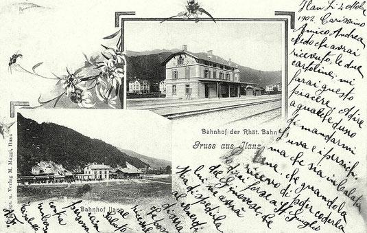 Phot. M. Maggi Ilanz, gestempelt 04.10.1903