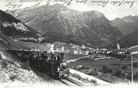 Edition Photoglob Zürich, gestempelt 19. Juni 1911