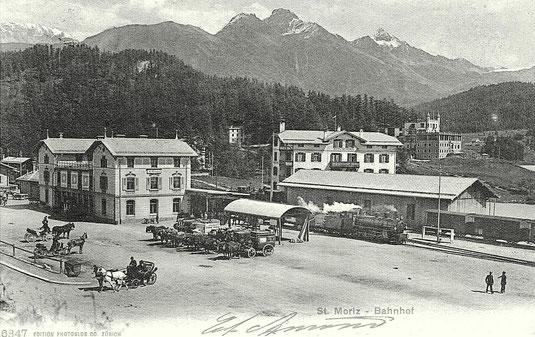 Edition Photoglob Zürich, gestempelt 22. Juli 1906