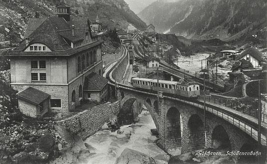 Kunstverlag E. Goetz Luzern, gestempelt 27.08.1926