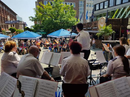 Die Kieler Woche mit dem Orchester