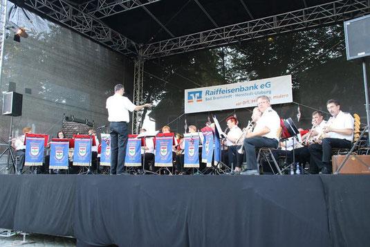 Der Musikzug der Freiwilligen Feuerwehr in Bad Bramstedt