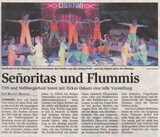 Bericht: HNA, 14.10.2014 www.hna.de