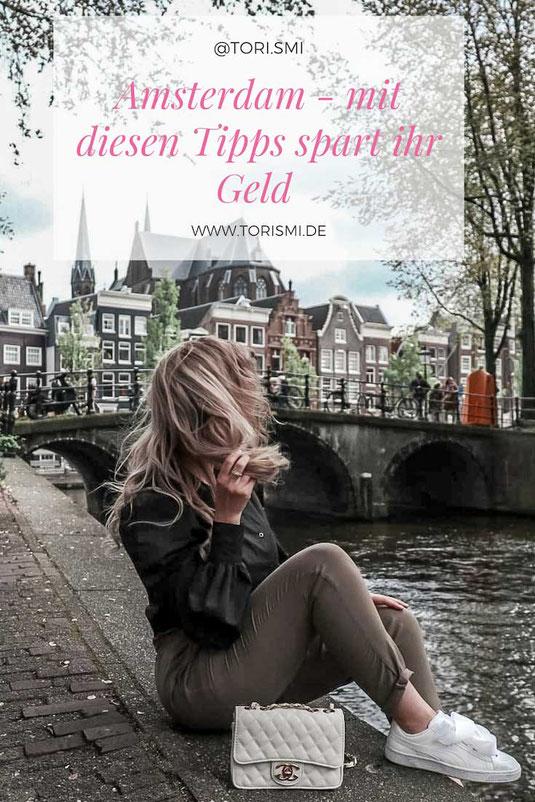 Geld sparen während der Hauptsaison in Amsterdam.