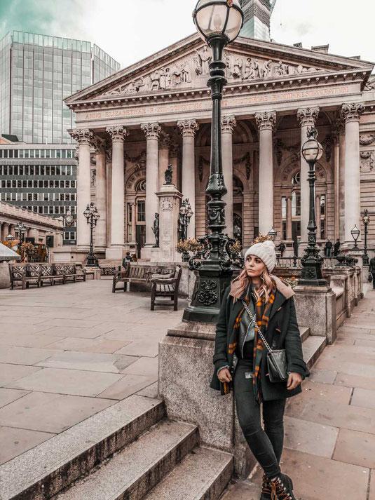 Zu sehen ist die Bank of England welche eine schöne Fotolocation in London ist
