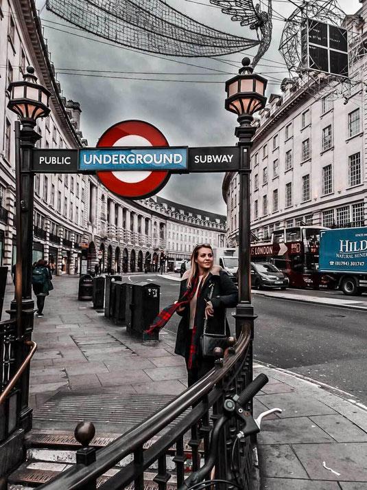Zu sehen ist der berühmte Piccadilly Circus London