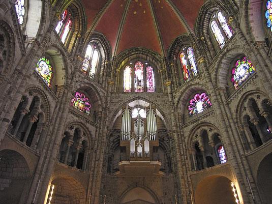 St. Gereon, Orgel im Dekagon, Fotos (c) Hans Peter Schaefer, www.reserv-a-rt.de