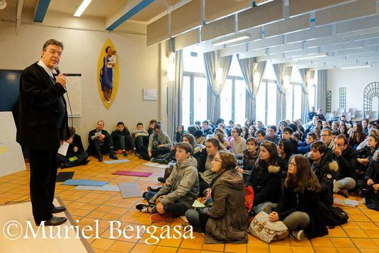 Mgr Aupetit à la rencontre des jeunes confirmants 15-03-2015