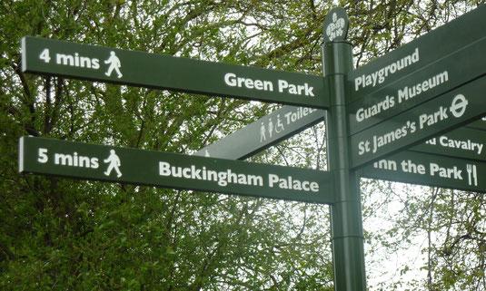 Wanderungen durch Londons Parkanlagen