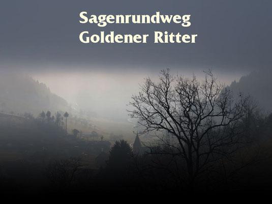 Gruseln auf dem Goldenen Ritter Weg in Prinzbach