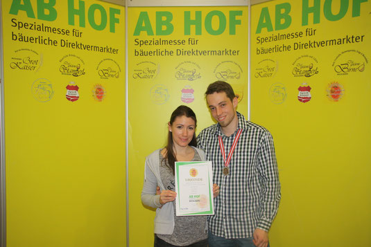 Silber Auszeichnung für unseren Bio-Waldhonig