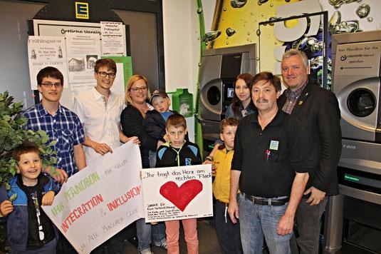 Dritte und vorerst letzte Pfandbox im Landkreis: Im Edeka Ebern kann die Lebenshilfe Ebern unterstützt werden