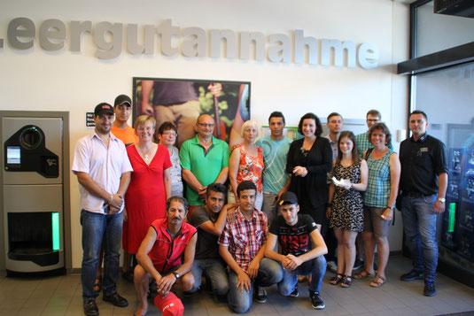 Wir unterstützen den Freundeskreis Asyl und somit die neuen Mitbewohner Knetzgaus!