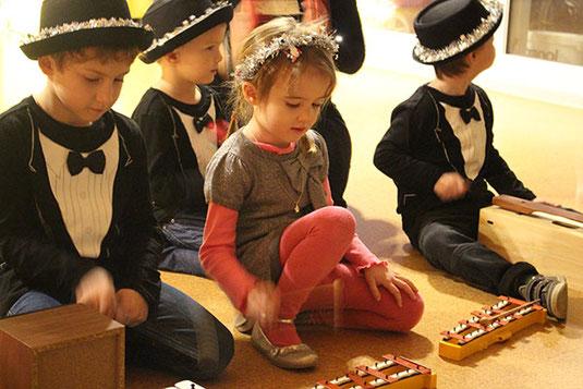 Musik und Bewegung für Kleinkinder mit Annette Flury-Jegge