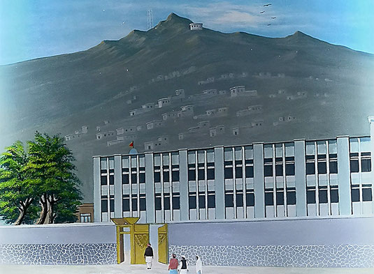 Shri Aasa Mai Madir, Kabul im Jahr 19??