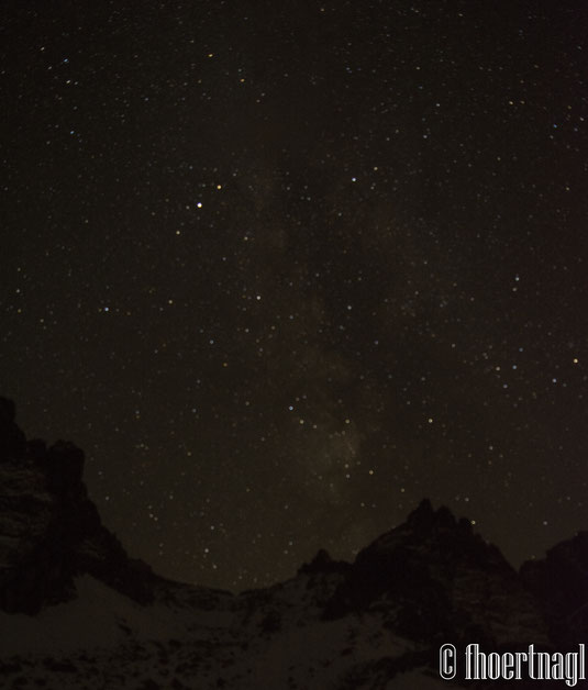 Stars above the Mountain
