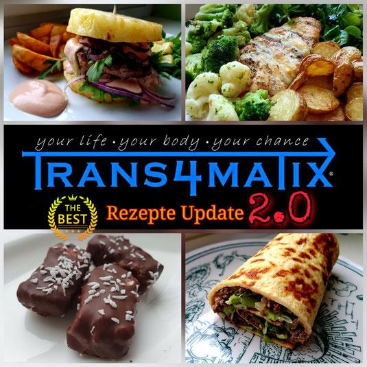 T4X Rezepte Update 2.0 mit 33 Fitness Meal Rezepten. Für zu Hause zum nach kochen, alltagstauglich, außergewöhnlich, abwechslungsreich und besonders lecker