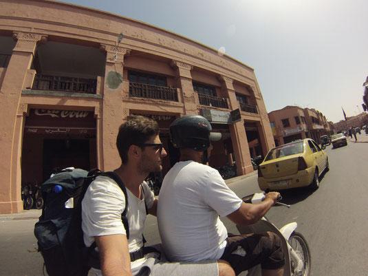 faire du scooter au maroc c'est pas bon pour la sécurité