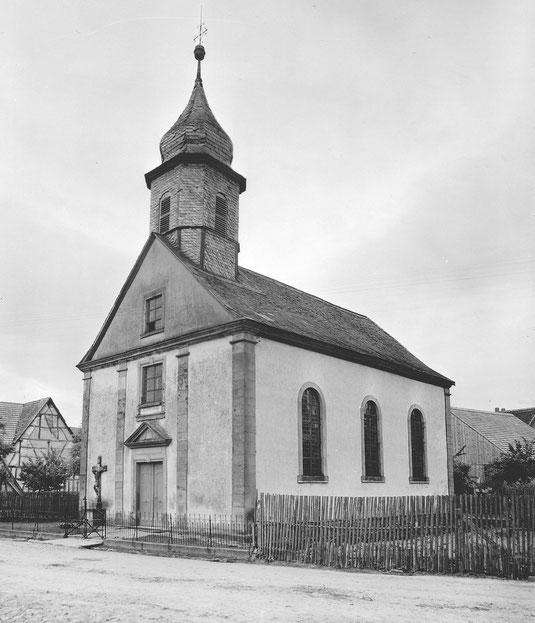 Kirche vor dem Umbau