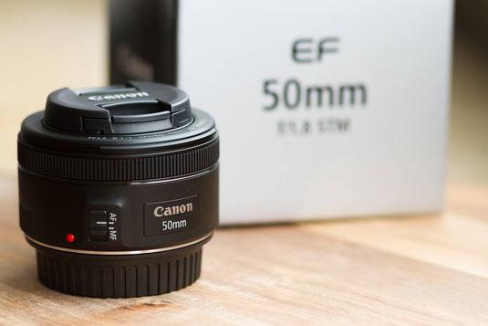 Canon EF 50mm f/1.8 STM DSLR Objektiv