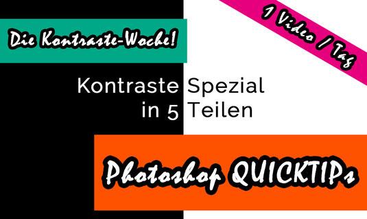 Die Kontraste-Woche Photoshop Quicktip Special von Tobias Gawrisch Xplor Creativity