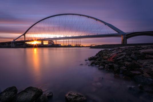 De Oversteek Brücke in Nimwegen, Niederlande von Tobias Gawrisch (Xplor Creativity)