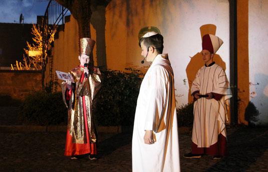 Pontius Pilatus übernimmt das Machtspiel um JESUS