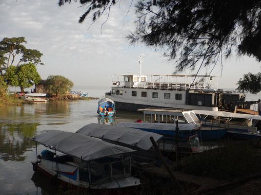 ©Textes et Photos Pascal Mawuli Macé Lac Tana Boat Bateau de croisiere Ethiopie Voyage Ethiopie  Commerce solidaire Mawuli-Ethiopie