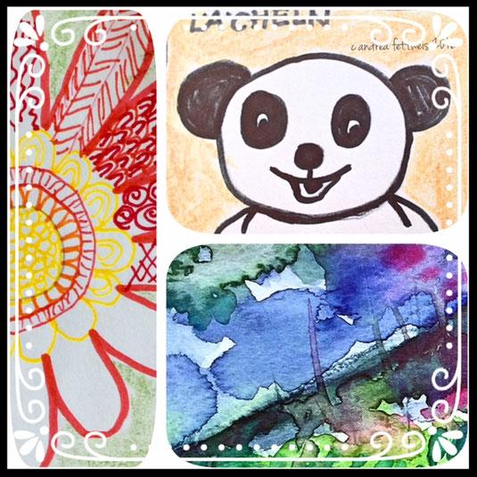 Doodle, Zeichnen, Kleine Bilder, Muster