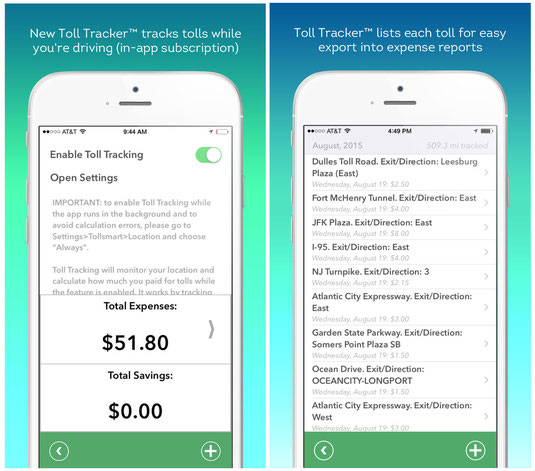 say goodbye to paper toll receipts tollsmart toll calculator